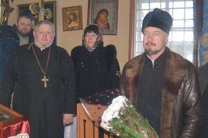 Liturghie jubiliară în satul Dușmani.
