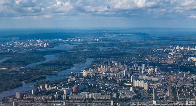 Красивые фотографии Киева с высоты птичьего полета 0 12d0e1 628fa9ad orig
