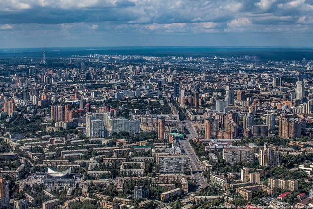 Красивые фотографии Киева с высоты птичьего полета 0 12d0ed 1ae543af orig