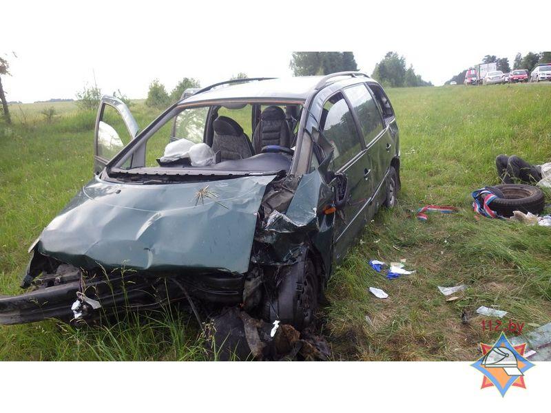 ДТП в Могилёвском районе: 9 пострадавших, понадобилась помощь спасателей