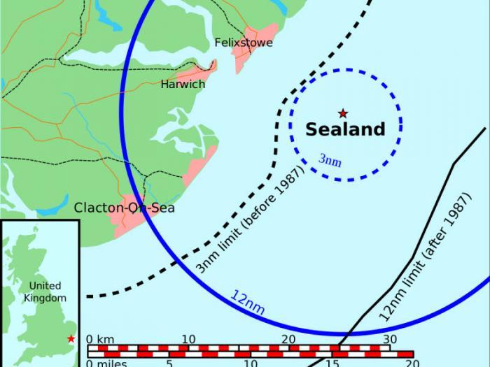 История безумца, основавшего суверенное государство на морской платформе