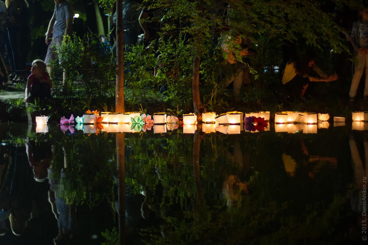 Фестиваль водных фонариков Саратов 9