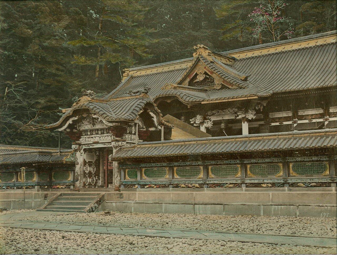 Тамагаки. Храм