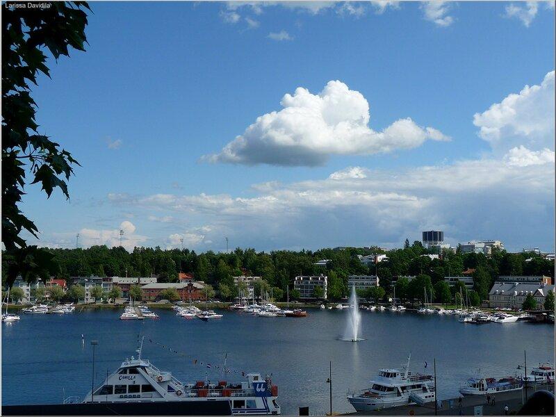 Lappeenranta-вид на город.