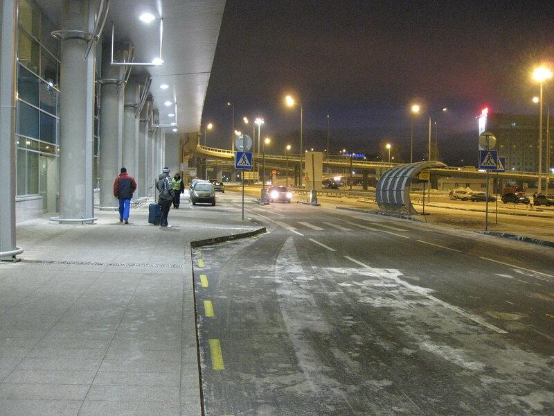 Пути подъезда к терминалу.