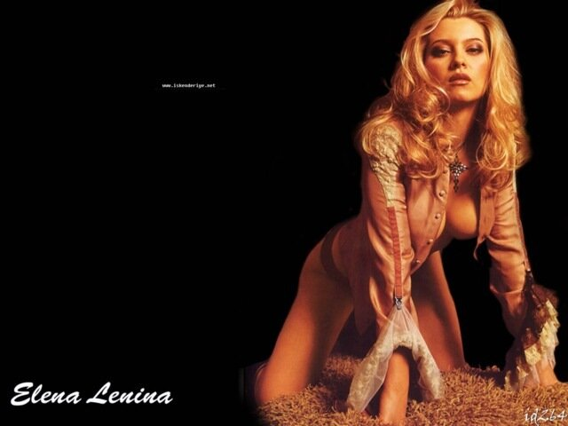 Елена ленина эротические фото