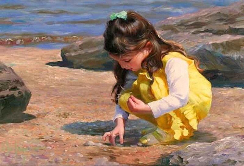 Кто из художников рисовал женщин и детей
