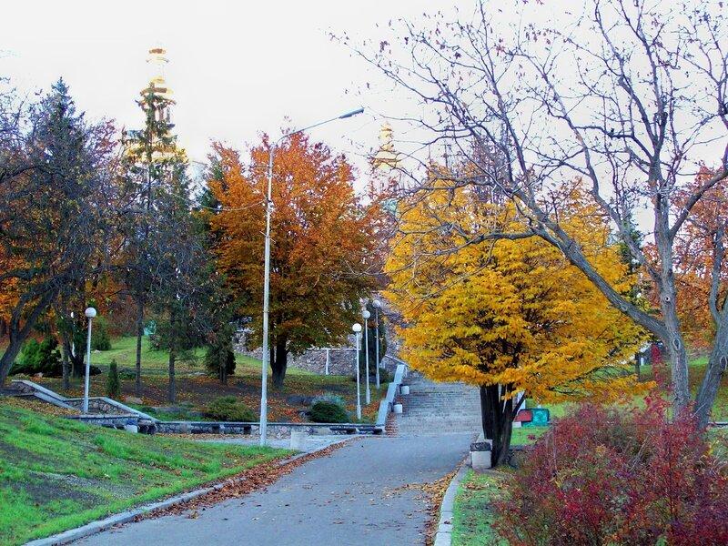 Осень на Певческом поле