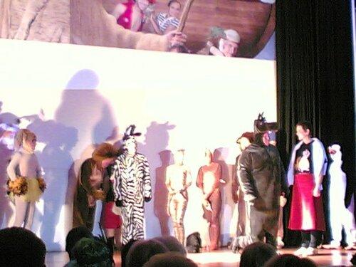 Герои Мадагаскар-2 на Ассамблее Мотомото (2009)