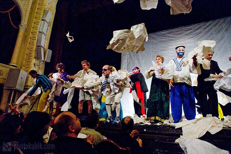 Фоторепортаж. Маски шоу   25 лет. Юбилейный концерт в Киеве