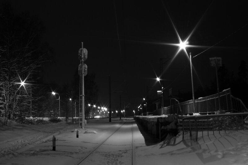 Станция в Балашихе