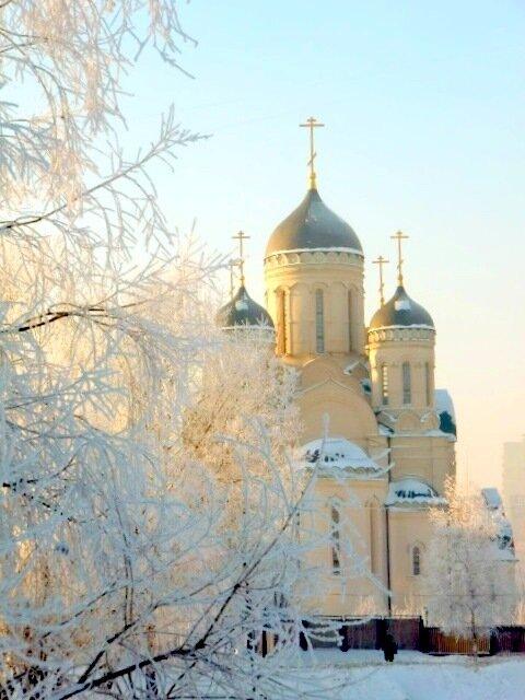 москва. церковь. россия. купола. зима. храмы. вера. православие.  Храм УТОЛИ МОЯ ПЕЧАЛИ.