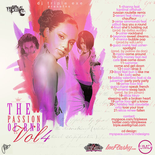 DJ Triple Exe - The Passion Of R&B 4
