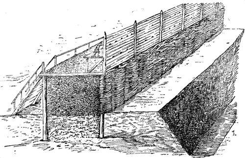 Стена Китай-города в 1534 году (графическая реконструкция).