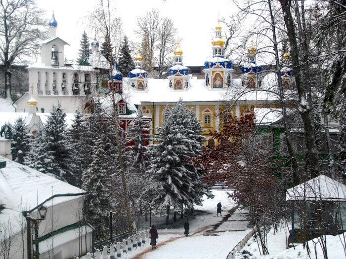 Псково-Печерский монастырь (история, фото)
