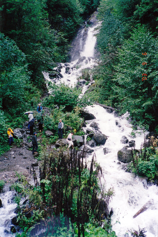 Молочный водопад