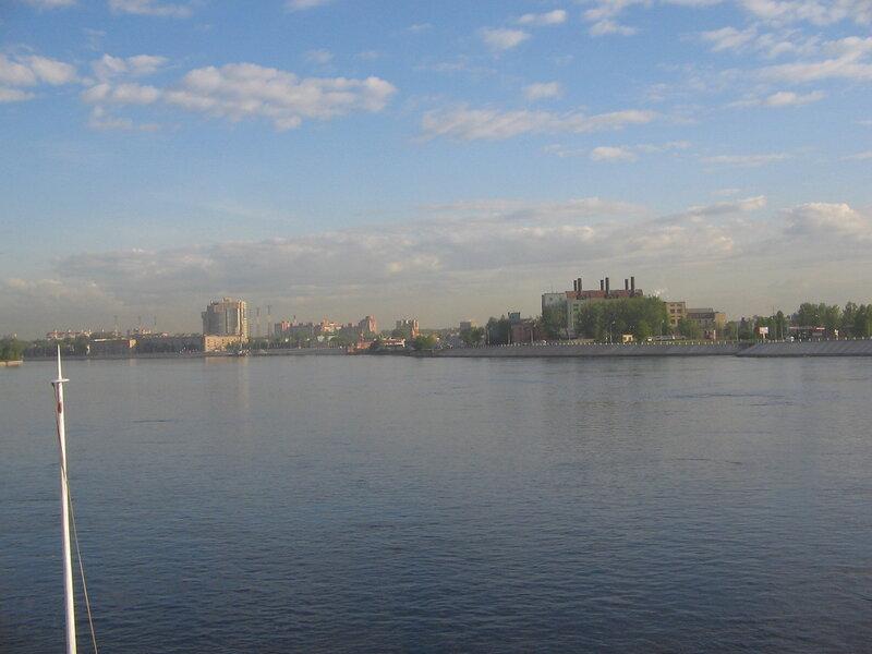 Утро на Неве. Санкт-Петербург
