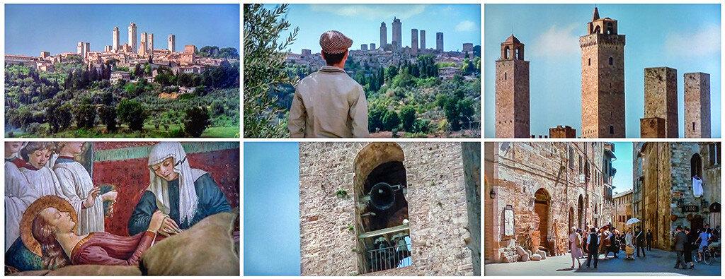 Сан-Джиминьяно - город средневековых небоскрёбов