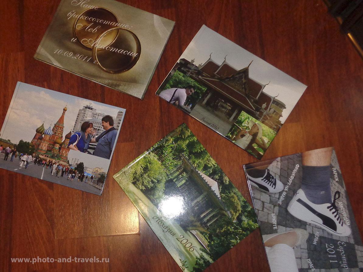 1. Те, кого увлекла идея создания фотокниги своими руками, не могут остановиться на одном экземпляре – заказывают печать фотоальбома со свадебными фотографиями, из отпуска.