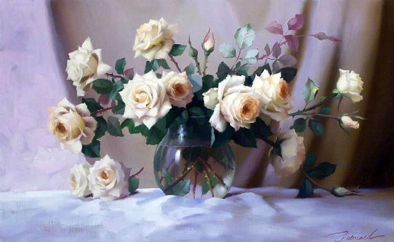 кадры интимной розы на окне по картине ю николаева горячее видео