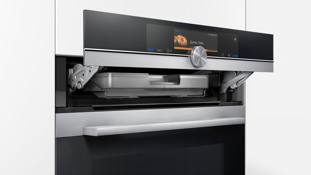 духовка с пароваркой Siemens IQ700