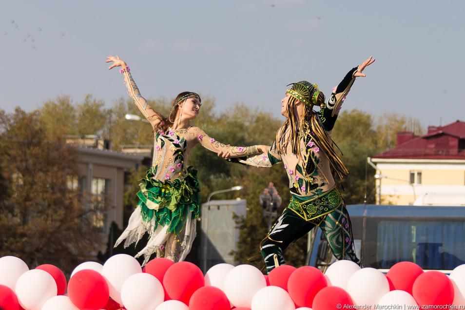 Театр танца Арт-вижн на праздновании Дня туризма в Саранске