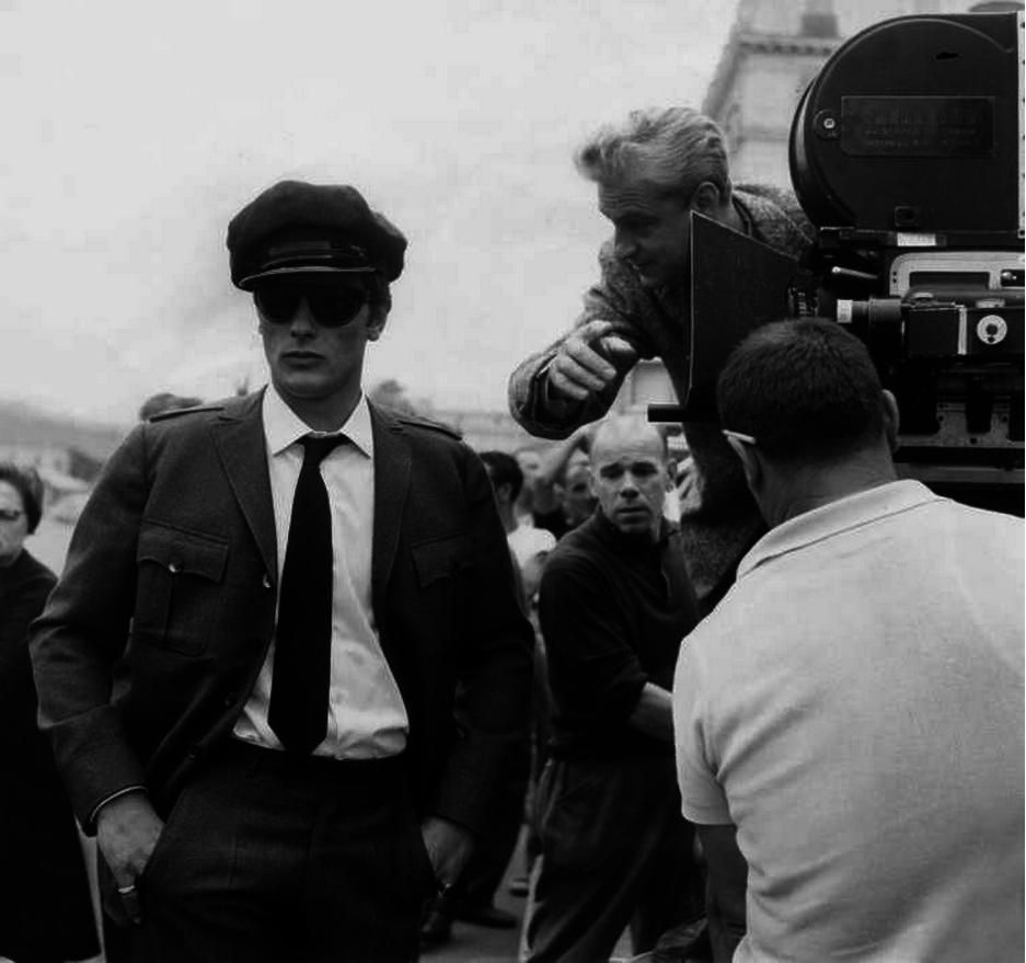 1964. На съемках «Хищников» с Рене Клеманом