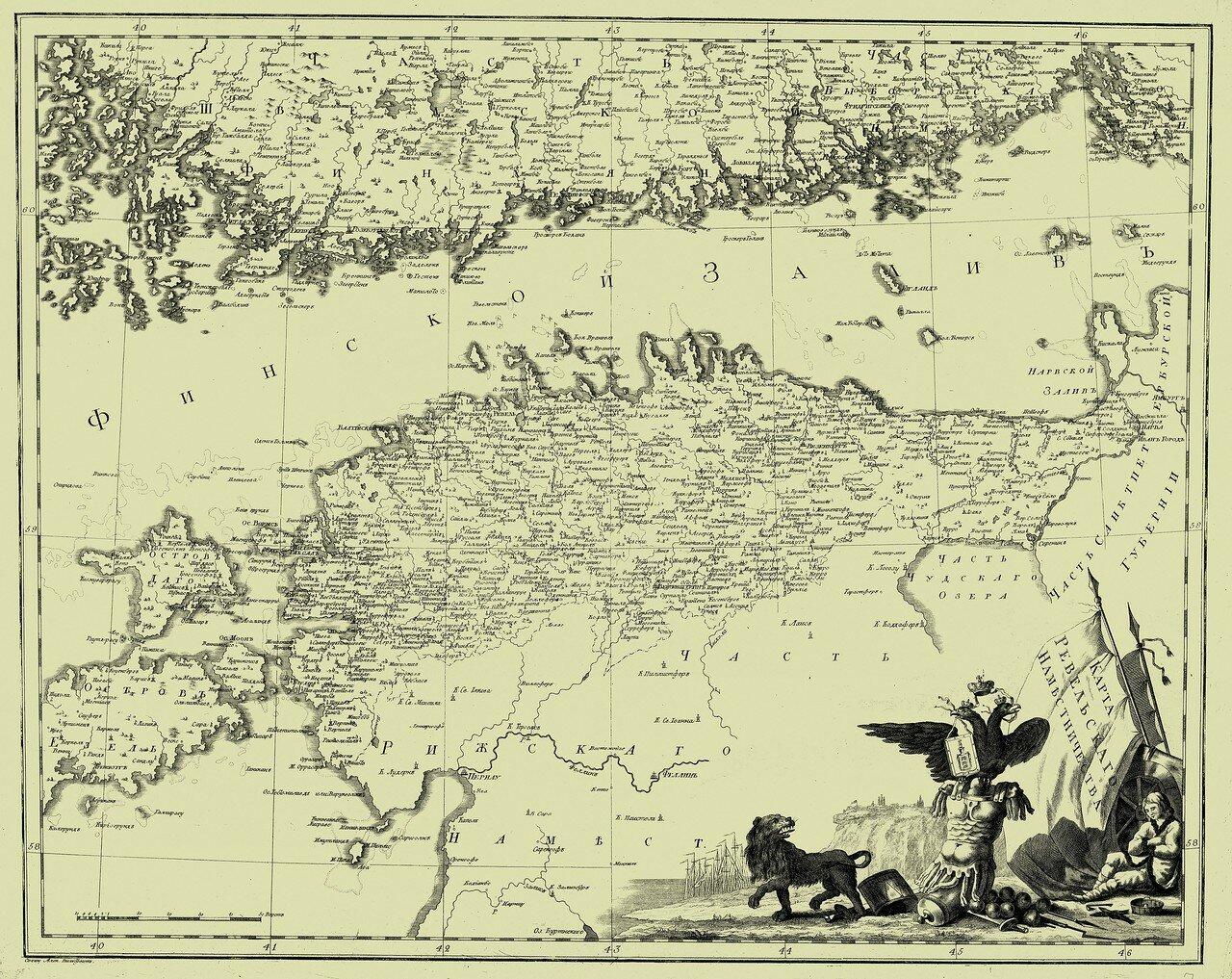 07. Карта Ревельского наместничества
