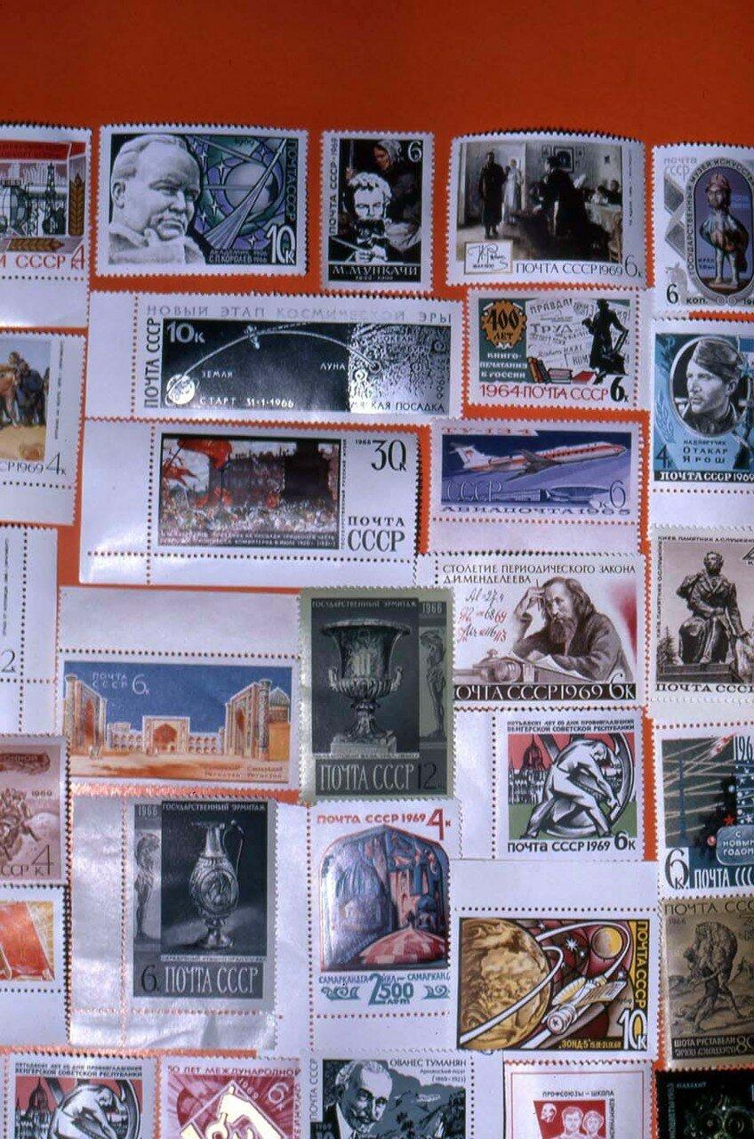 18. Разнообразные советские марки