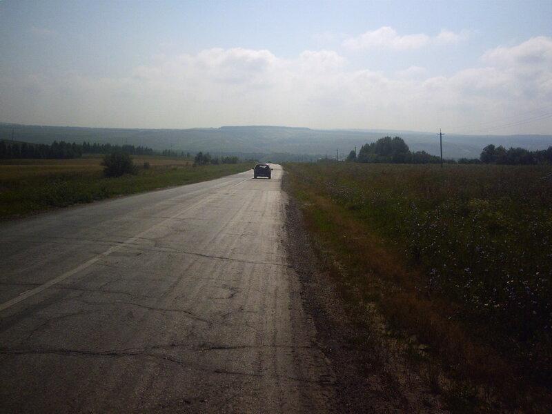 Трасса в Сенгилей