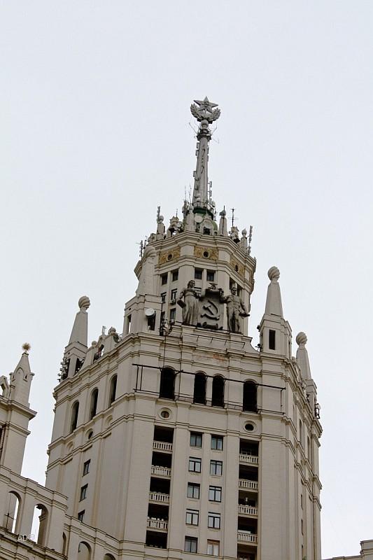 Высотное здание на Котельнической набережной