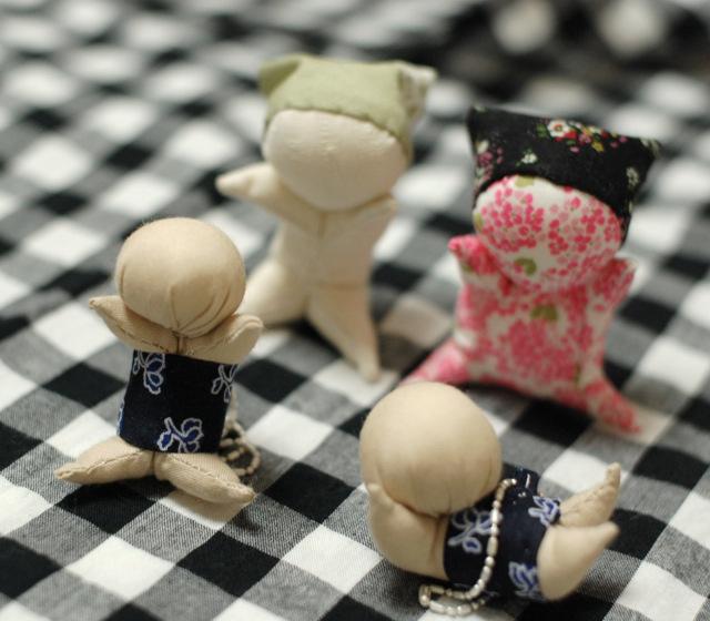 Мягкие японские игрушки своими руками