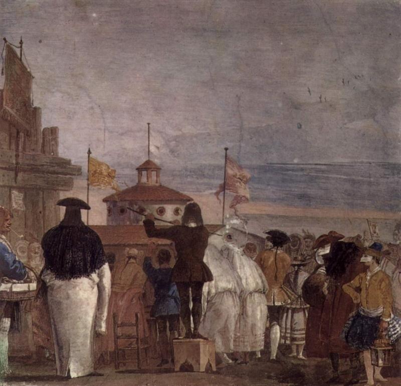 Венецианская толпа