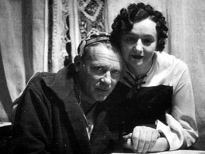 Михаил Булгаков и Елена Шиловская (Булгакова)