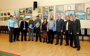 Выставка художников в Нововоронеже