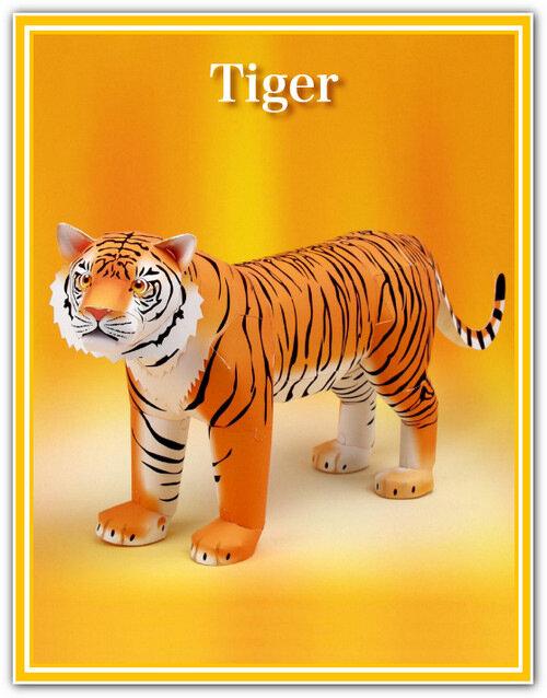 Как сделать своими руками тигра 56