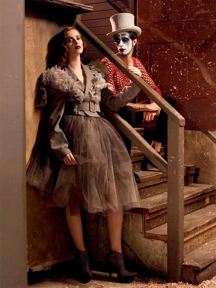 Karen Elson Steven Meisel Photoshoot 2007