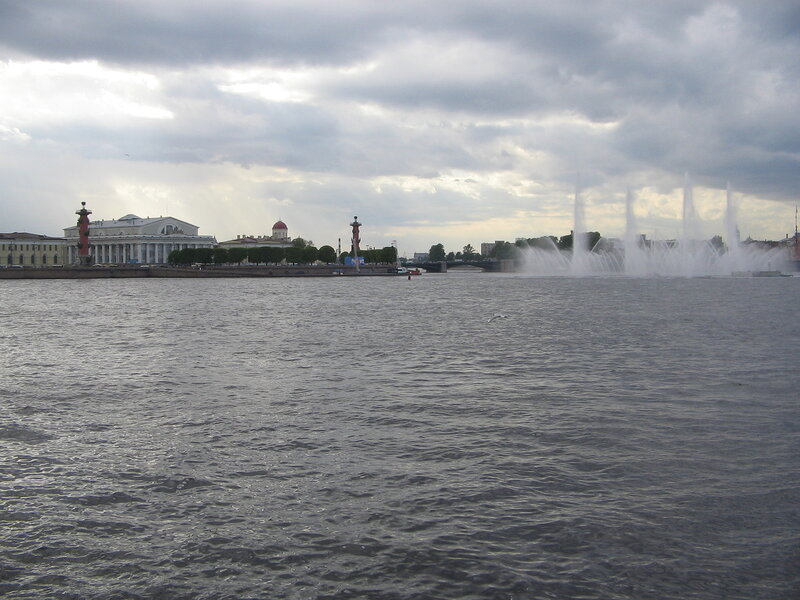 Cruise along Neva river and canals of St. Petersburg