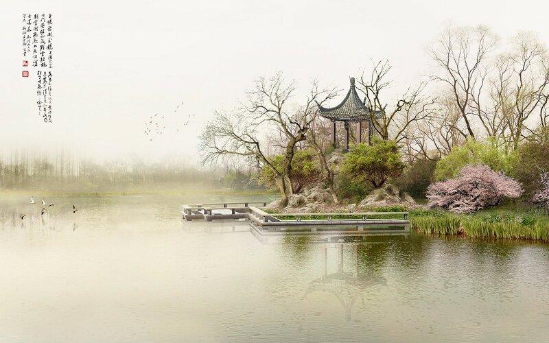 Красивые китайские пейзажи. Фотографии природы Китая, похожей на картины 0 1c4d3f d8f25528 XL