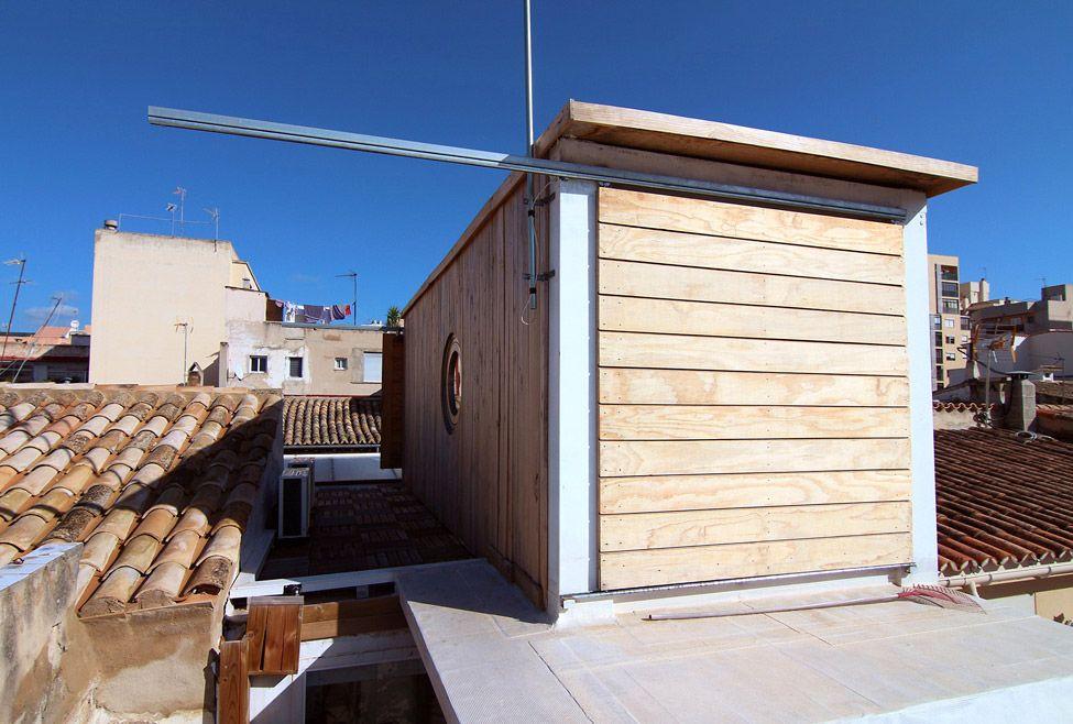 Дом на крыше дома