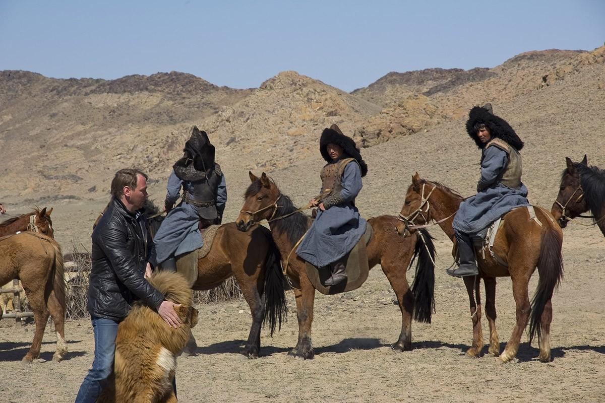 12. Как выяснилось, тибетские мастифы являются еще и весьма талантливыми актерами. Осенью 2014 года