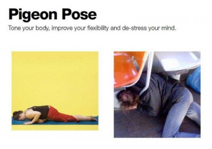 О пьяных мастерах йоги
