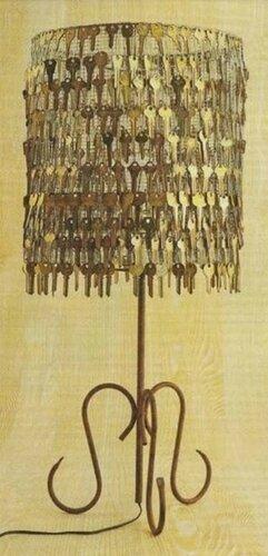 Декорирование старыми ключами