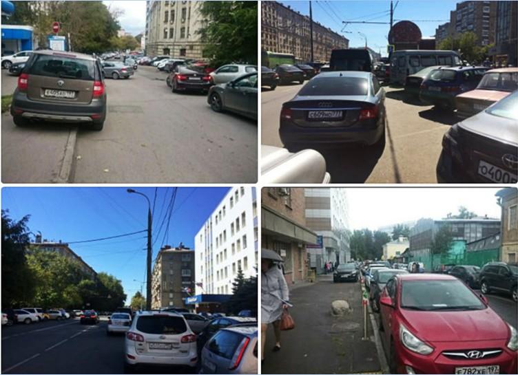 Октябрь, декабрь – в Москве вводят точечную платную парковку