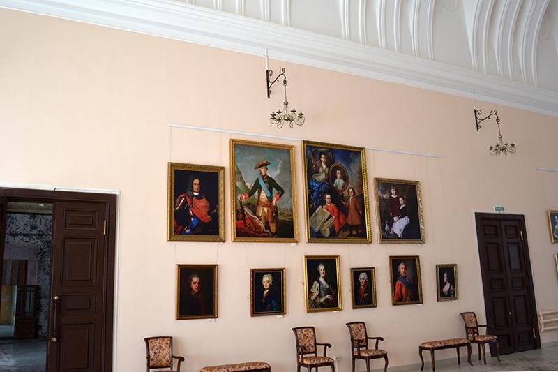 зал картины