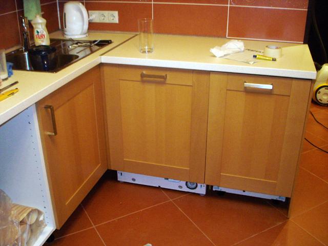 Всё о размещении стиральной машины на кухне и 30 фото-примеров