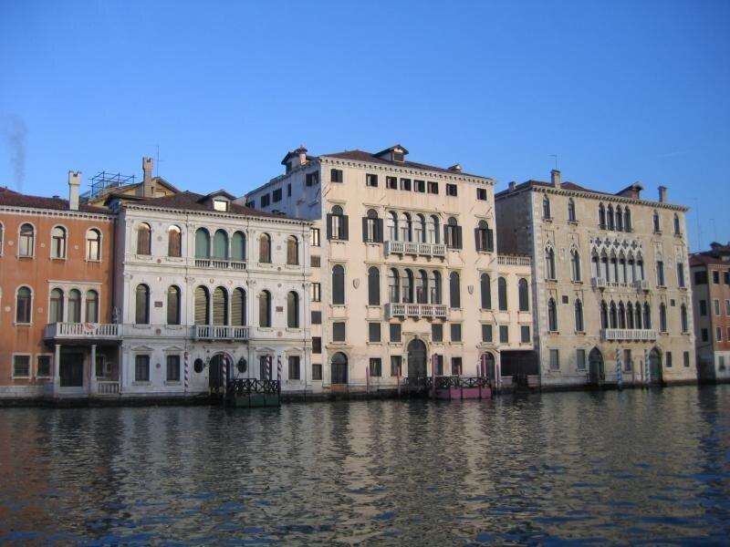 Дворцы на Большом канале