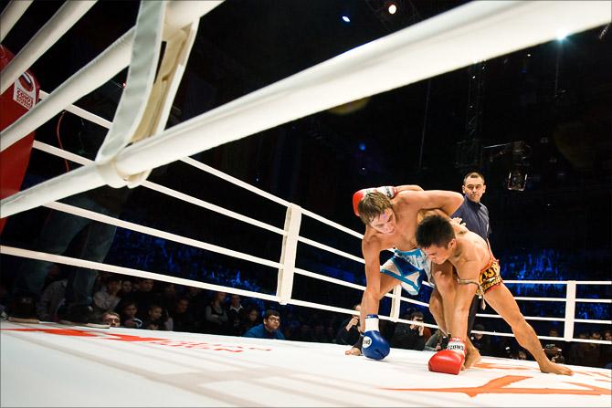 Битва чемпионов. Фотограф Кирилл Толль