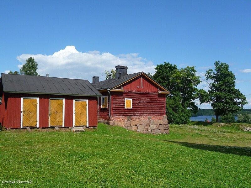 Lappeenranta. Крепость. Амбары.