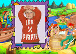 "Пуловер ""100% Пират"""